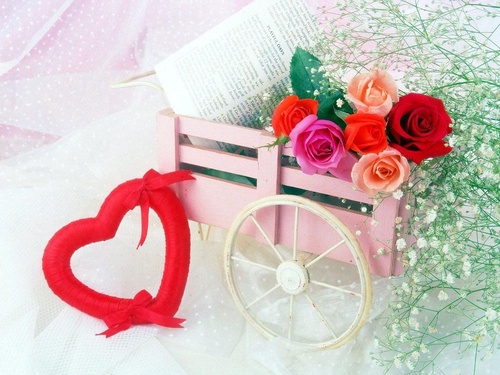 Пирожное, открытки романтика с днем рождения