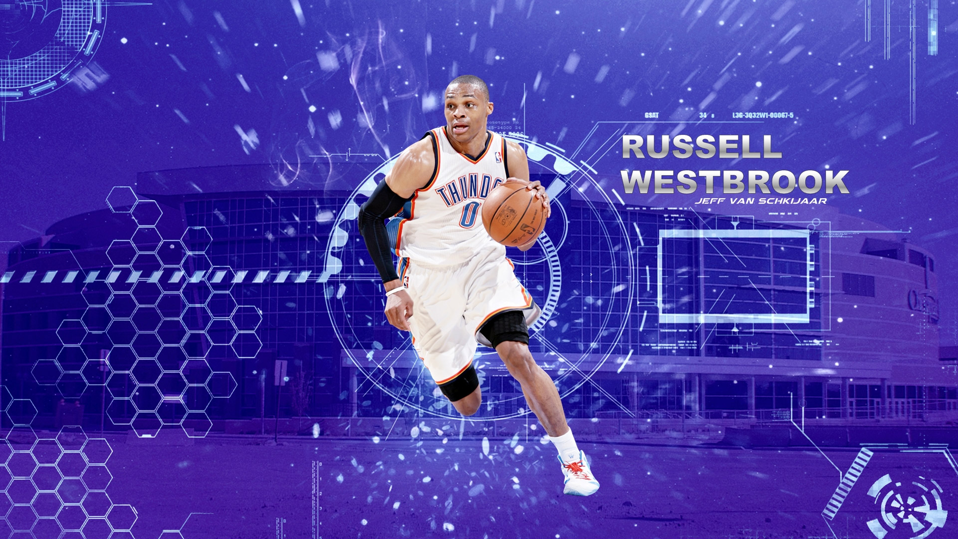Russell westbrook wallpaper iphone wallpapersafari - Russell Westbrook Wallpapers 52 Wallpapers
