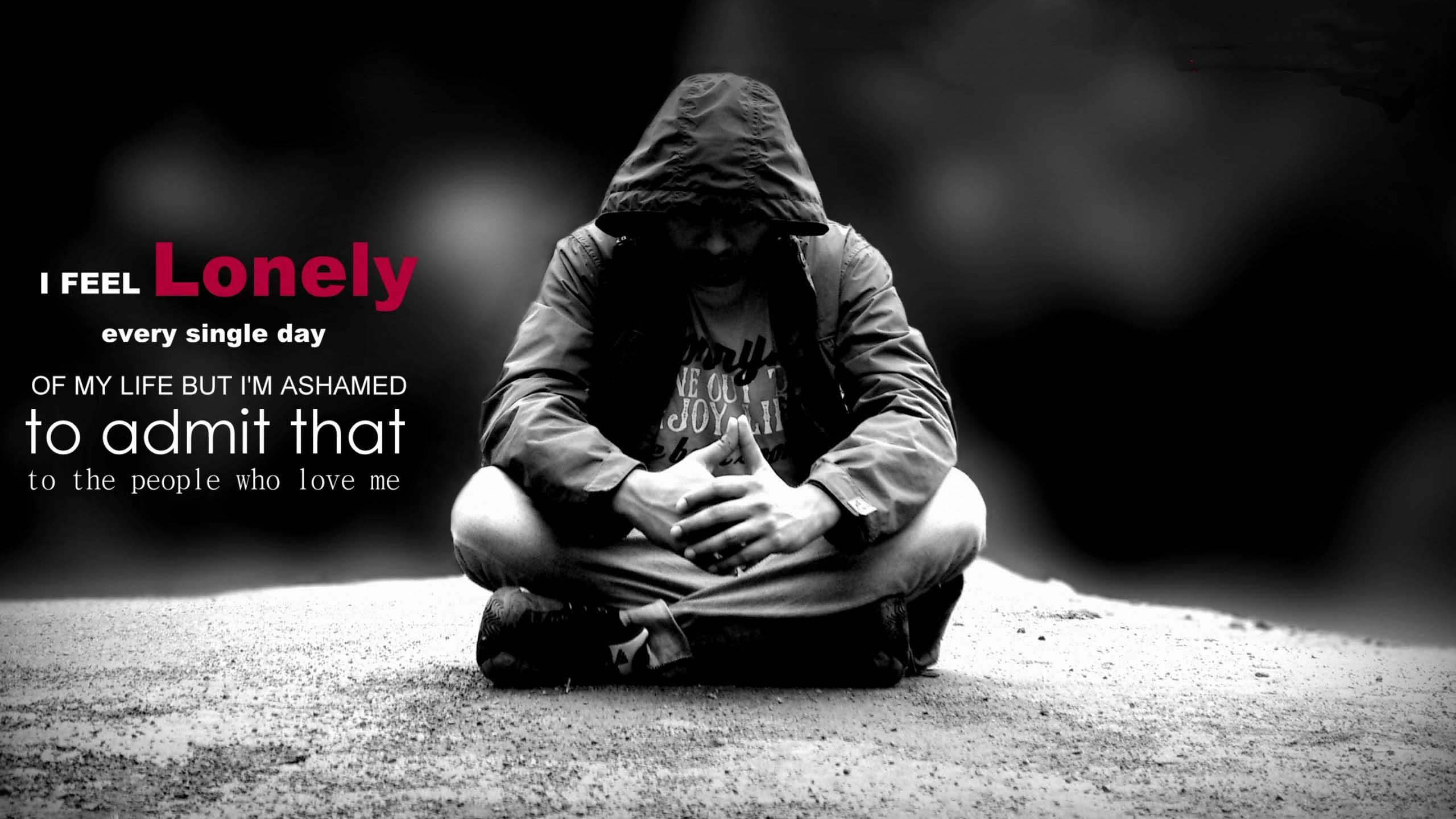 Heart Touching Sad Boy Wallpaper Alone Boy Sad Images 2560x1440