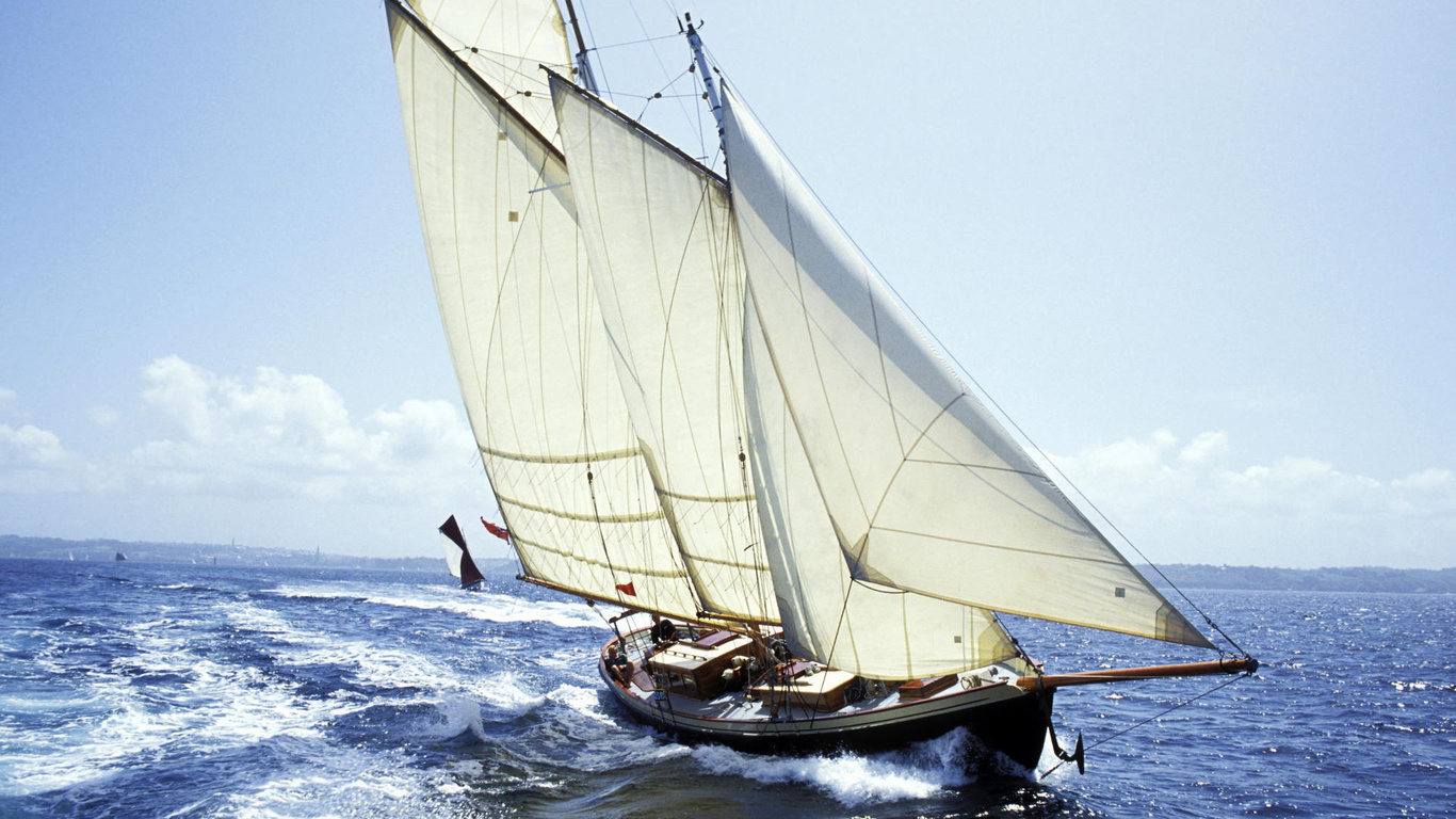 Sailing Wallpapers Group  1366x768