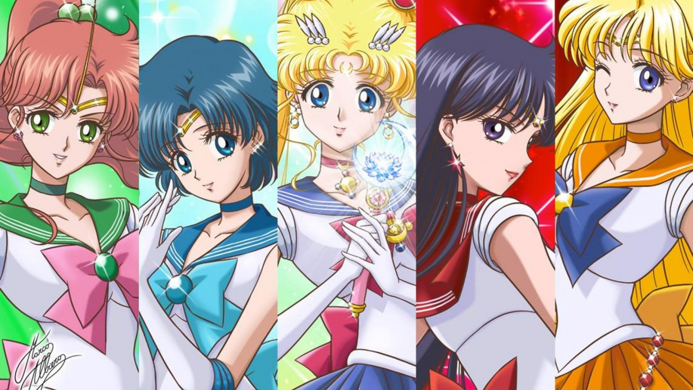 Sailor Moon Wallpapers  Wallpaper  1366x768