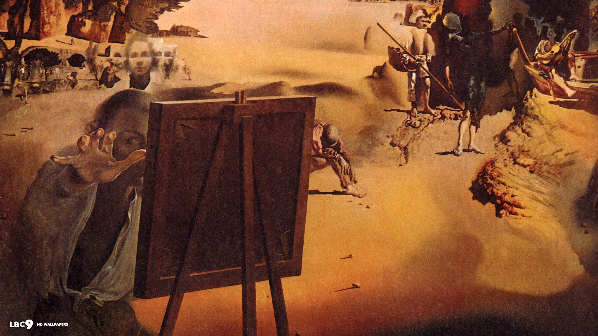 salvador dali wallpaper  paintings hd