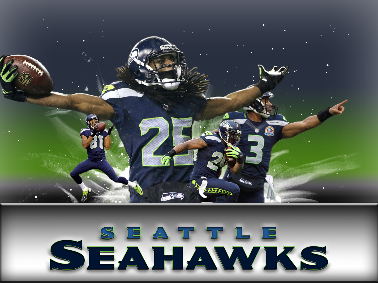 Seattle Seahawks Computer Wallpapers, Desktop Backgrounds 1600x1200