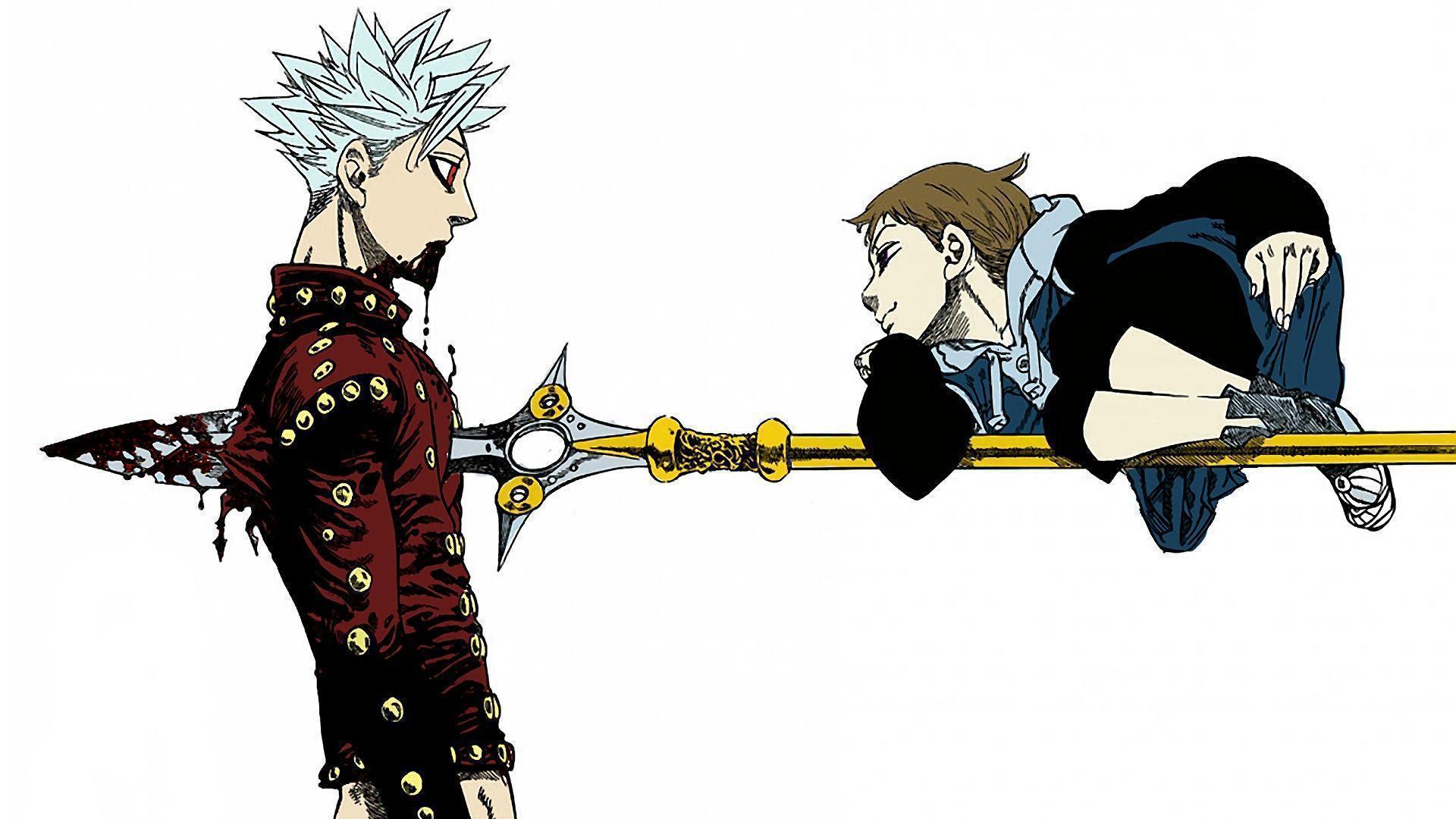 Wallpaper Of Arthur Pendragon The Seven Deadly Sins Anime