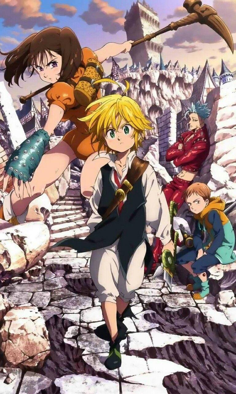 Seven Deadly Sins Anime Wallpaper King 25 Wallpapers Adorable