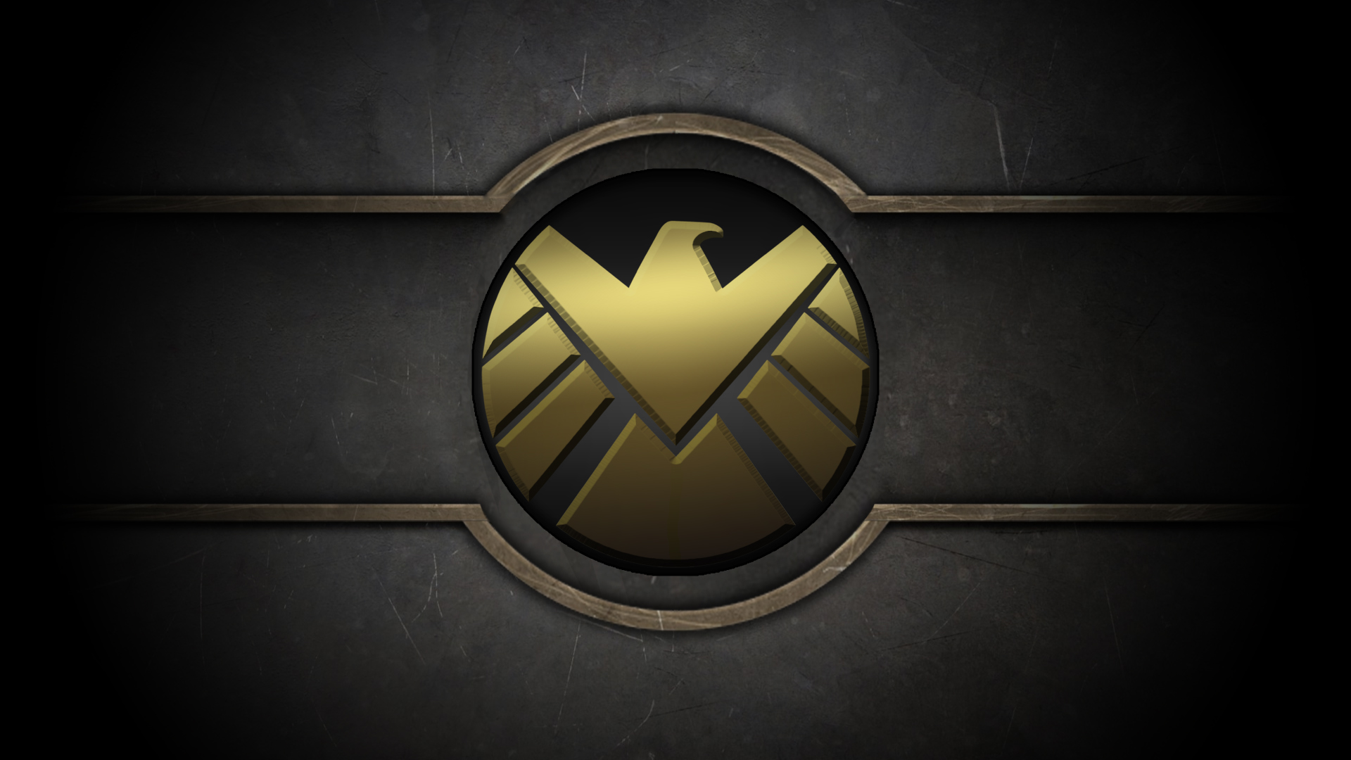 Marvel Shield Logo Wallpaper   1920x1080