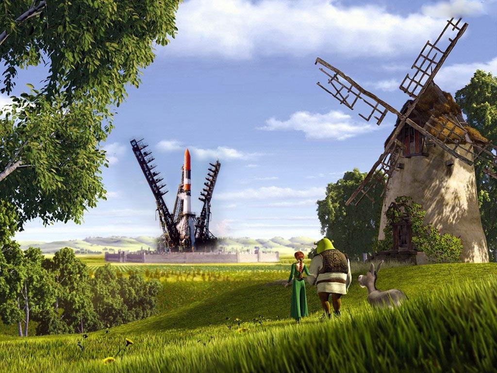 Shrek Hd Wallpapers Backgrounds Wallpaper 1024x768