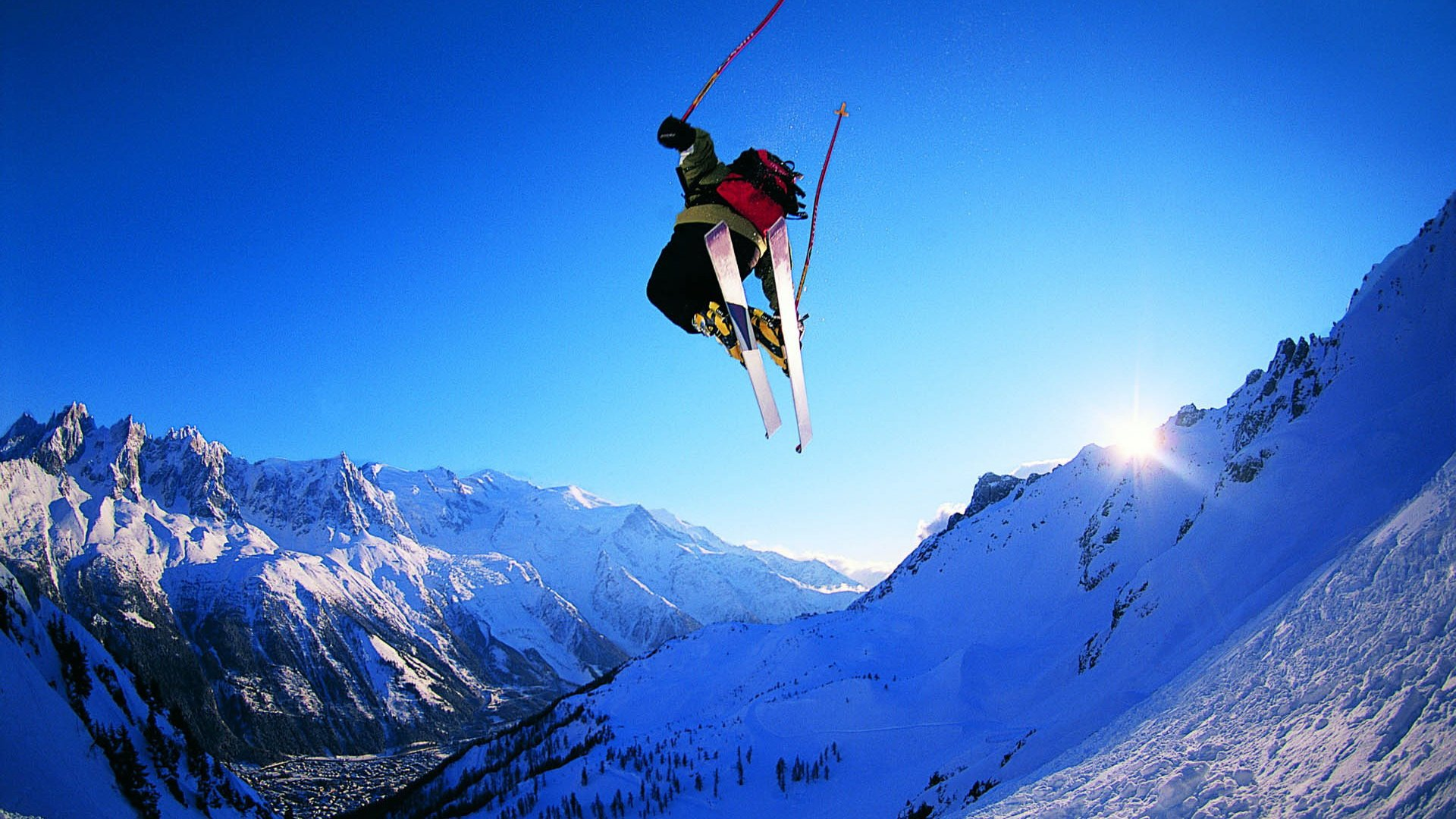 High Definition Collection: Extreme Skiing Wallpaper, 43 Full HD ...
