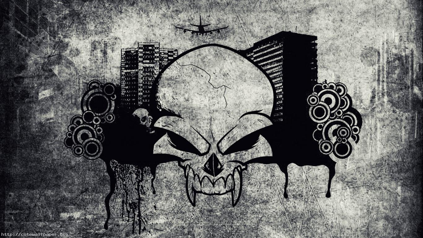 Free HD Skull Wallpapers Group 1366x768