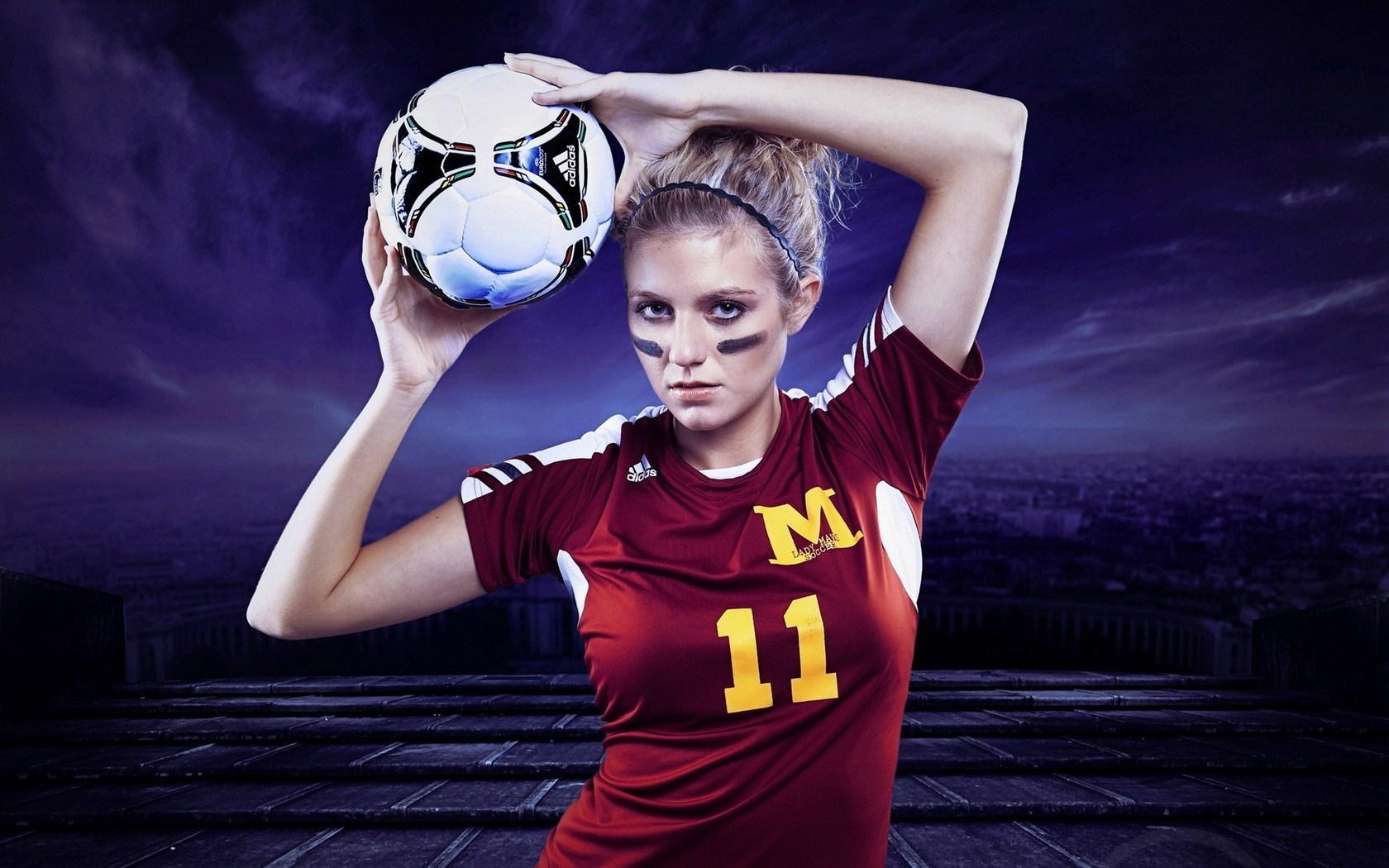 Soccer Girls Wallpaper Free