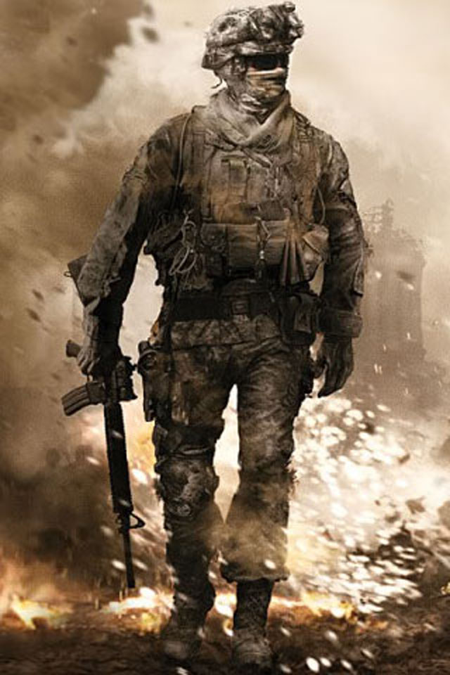 American Soldier Wallpaper 640x960