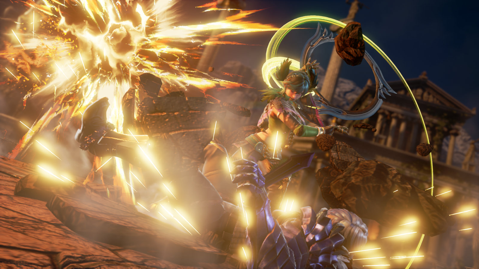 Tira Returns to the Stage of History in SoulCalibur VI PlayStation