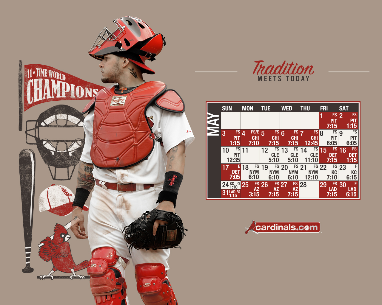 St louis cardinals wallpaper 23 wallpapers adorable - Arizona cardinals screensaver free ...