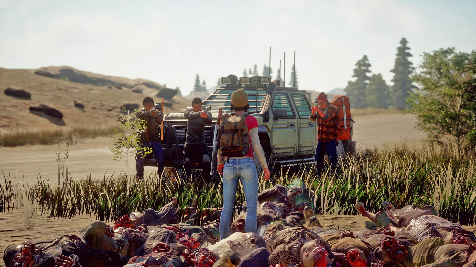 State Of Decay K Ultra Hd Wallpaper Background Image