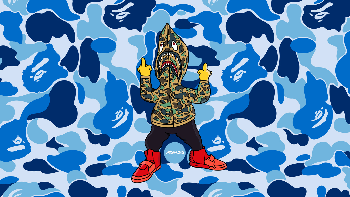 402509285427692876 in addition Bathing Ape Wallpaper moreover Dope Pictures also Bart Simpson Gangster Wallpaper together with Bape Supreme Cartoon 1080 By. on supreme dope cartoon iphone wallpaper