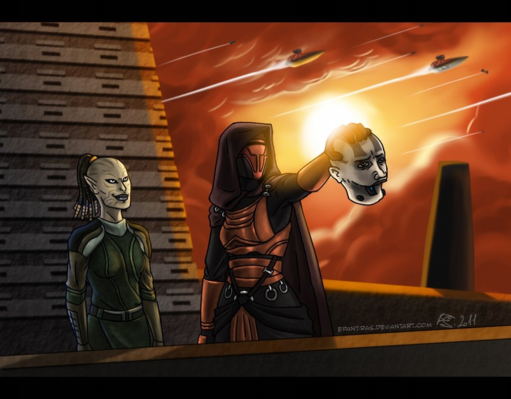 Rakata Star Wars: Knights of the Old Republic Wallpaper 1011x790