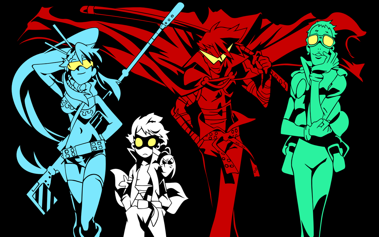 TTGL wallpapers posted swell with drills and dead brother