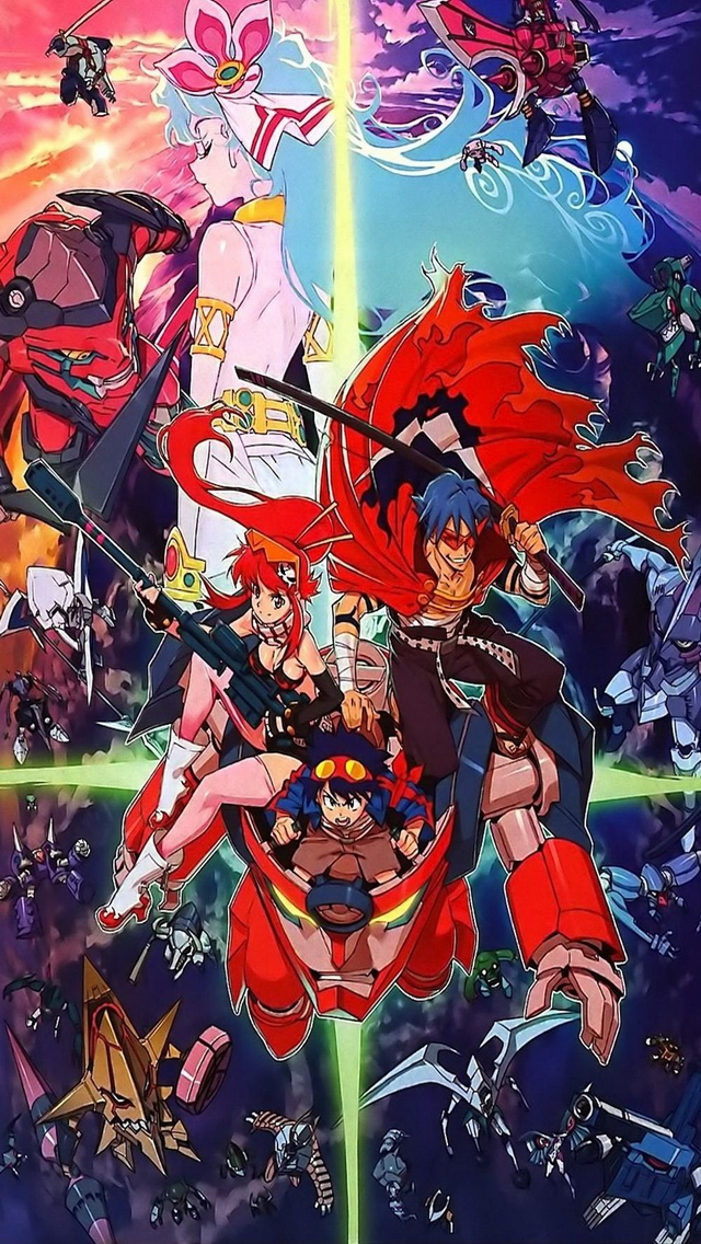 Tengen Toppa GurrenLagann Wallpaper The STORY of today is the