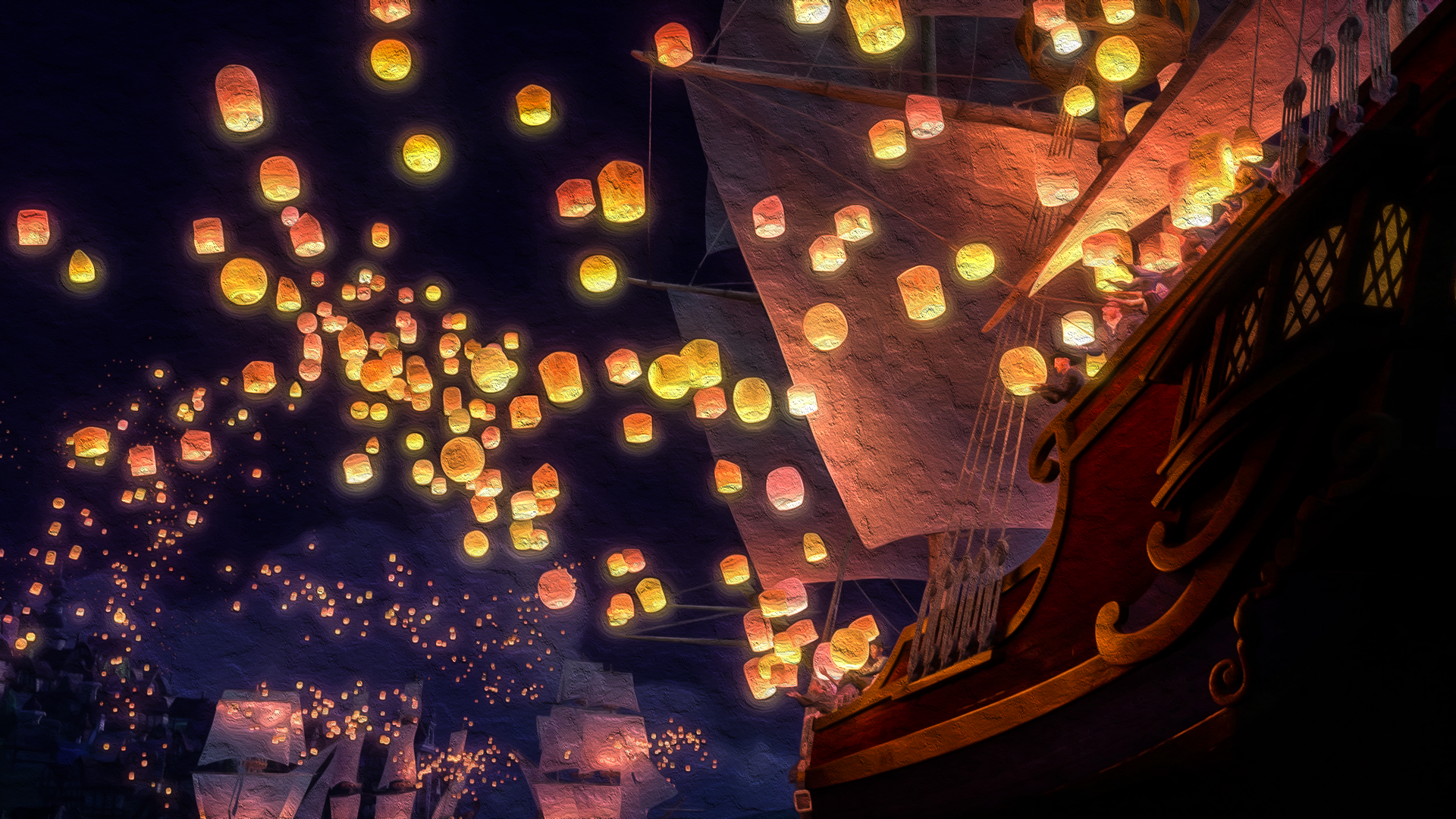 Wallpaperswide Tangled Wallpapers Wallpaper 1920x1080