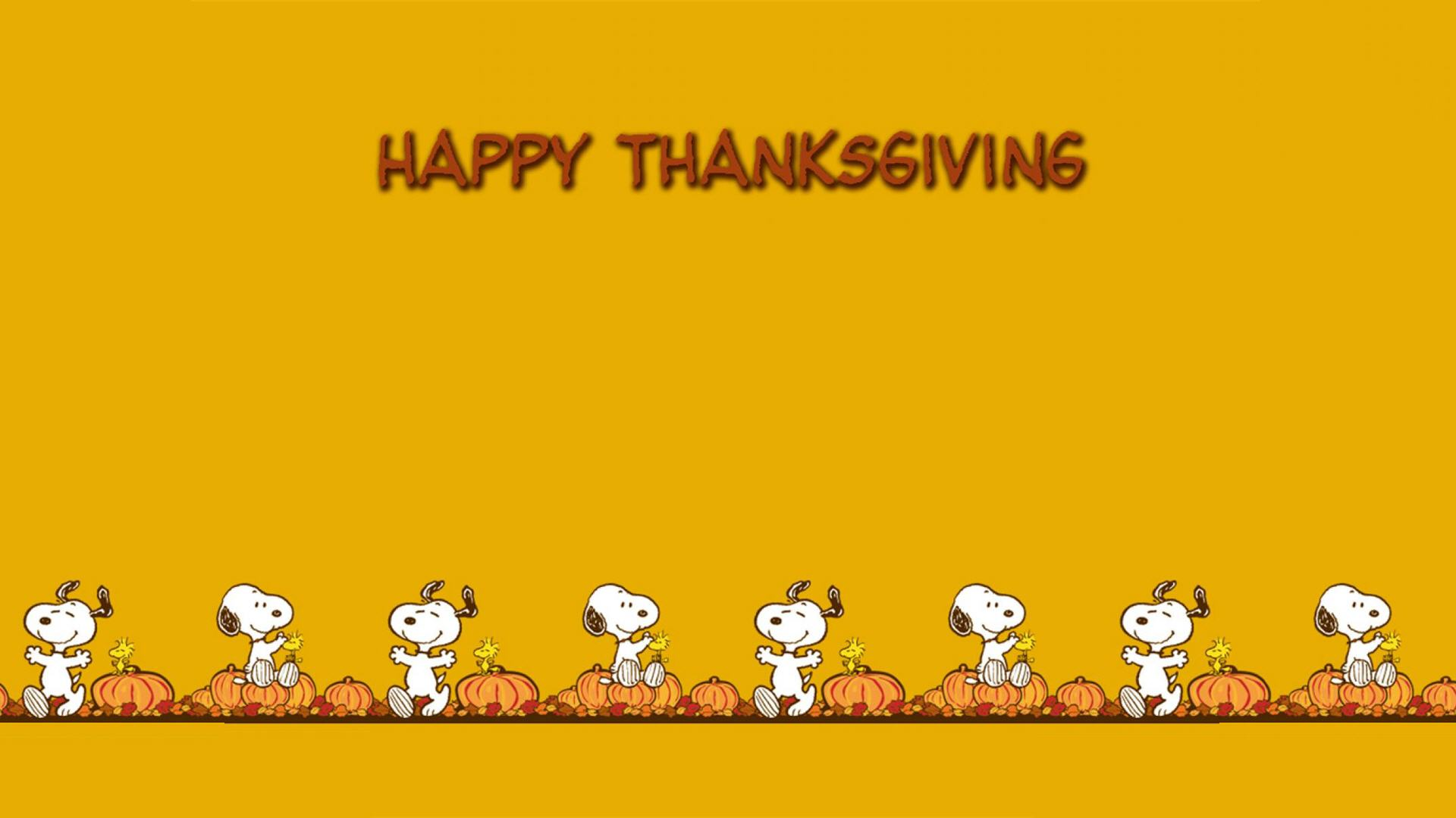 Thanksgiving Snoopy Wallpapers  Wallpaper  1920x1080