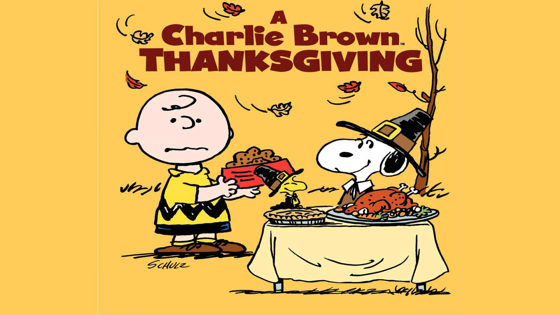 Peanuts Thanksgiving Wallpapers  Wallpaper  1920x1080