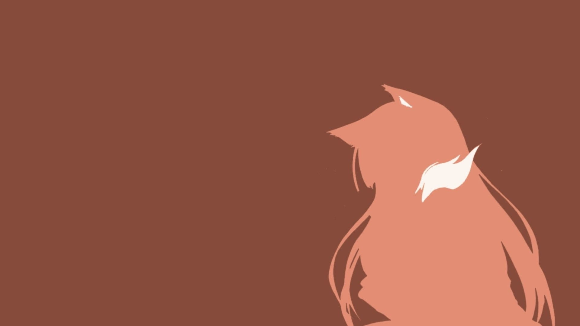 Holo Vector Spice And Wolf Wallpaper X