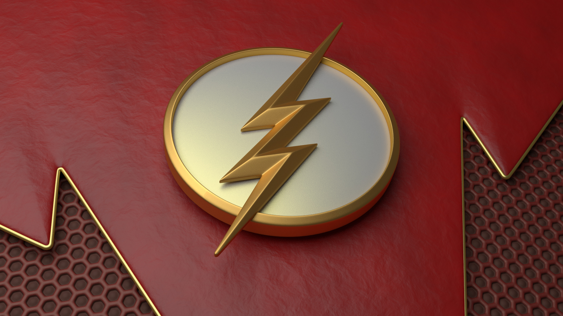 Flash logo wallpaper phone
