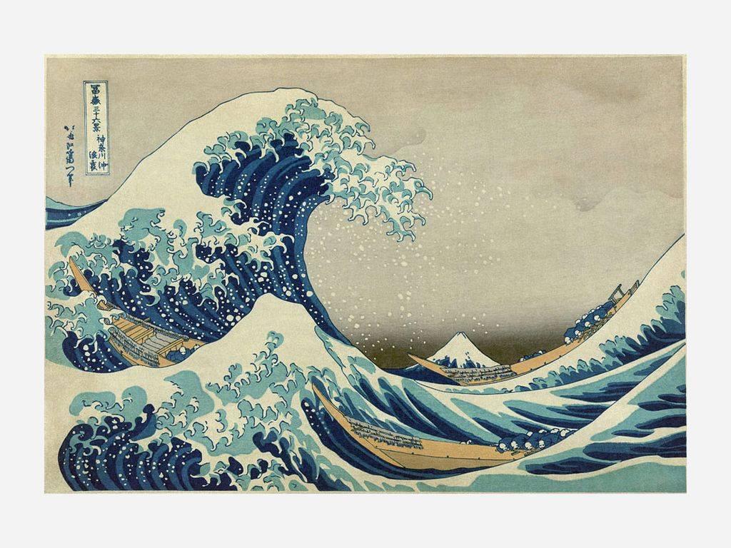 The Great Wave Off Kanagawa Computer Wallpapers Desktop 1024x768