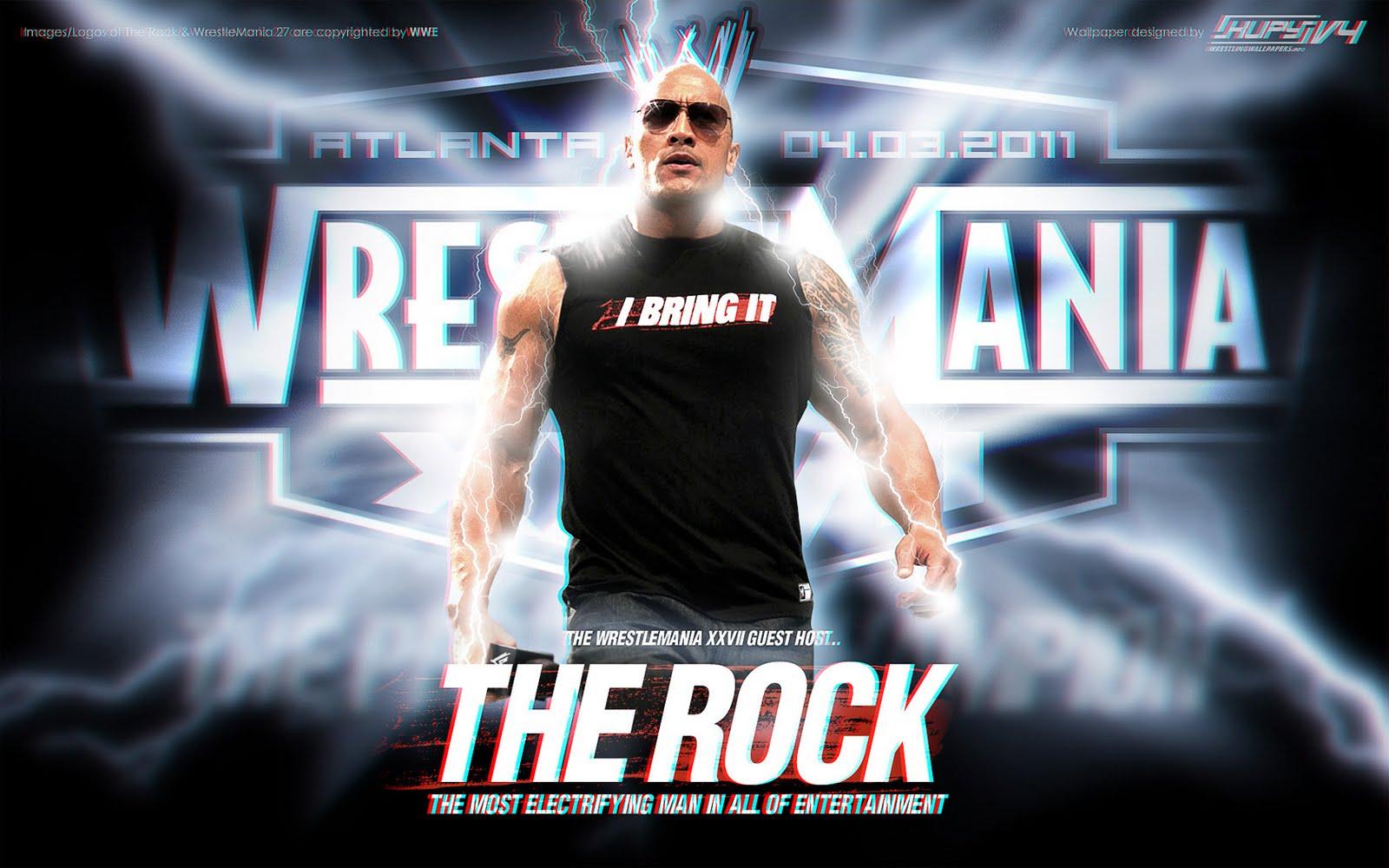 WWE Rock Wallpapers Group 1600x1000