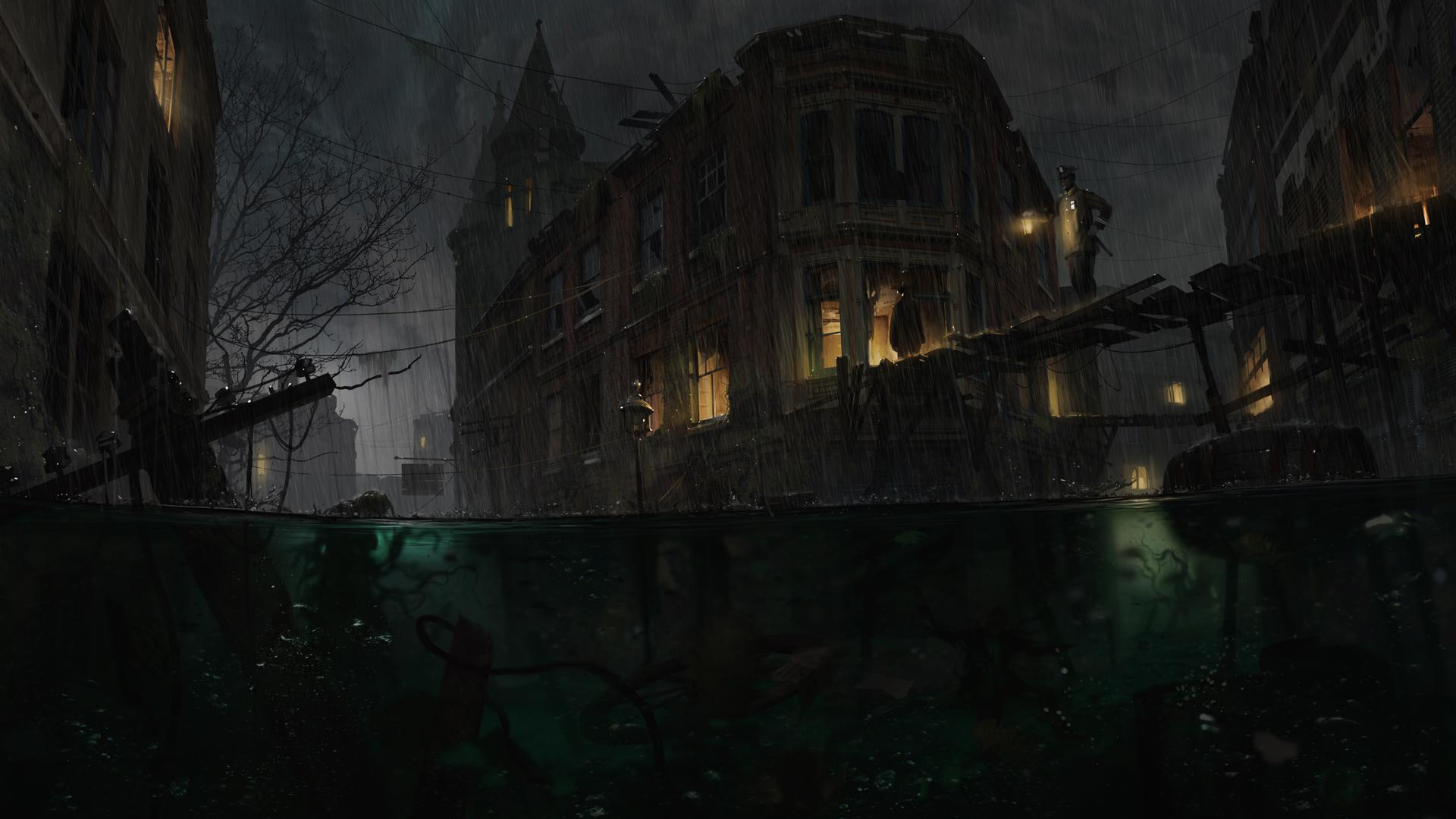 Call of Cthulhu and The Sinking City preview Rock Paper