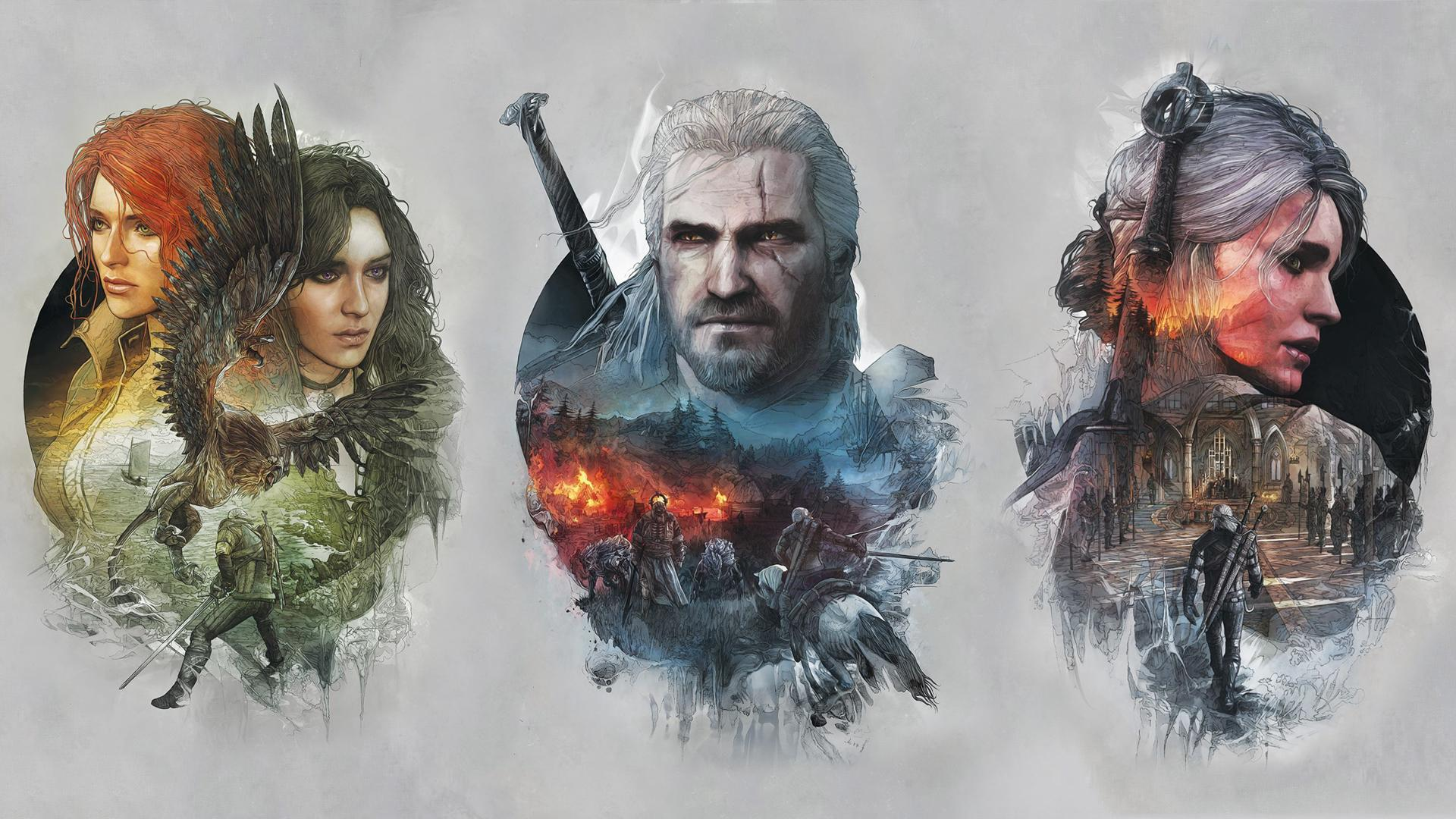 Fiend The Witcher Wild Hunt wallpaper wallpaper free