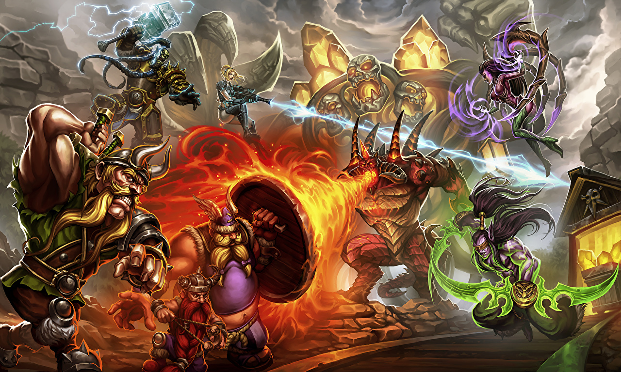 Thrall wallpapers 42 wallpapers adorable wallpapers - Heroes of the storm phone wallpaper ...