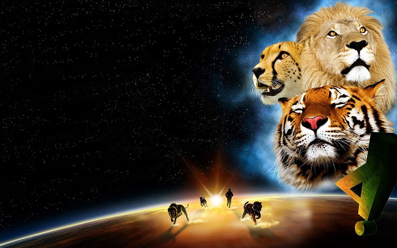 lion and tiger wallpaper - photo #14
