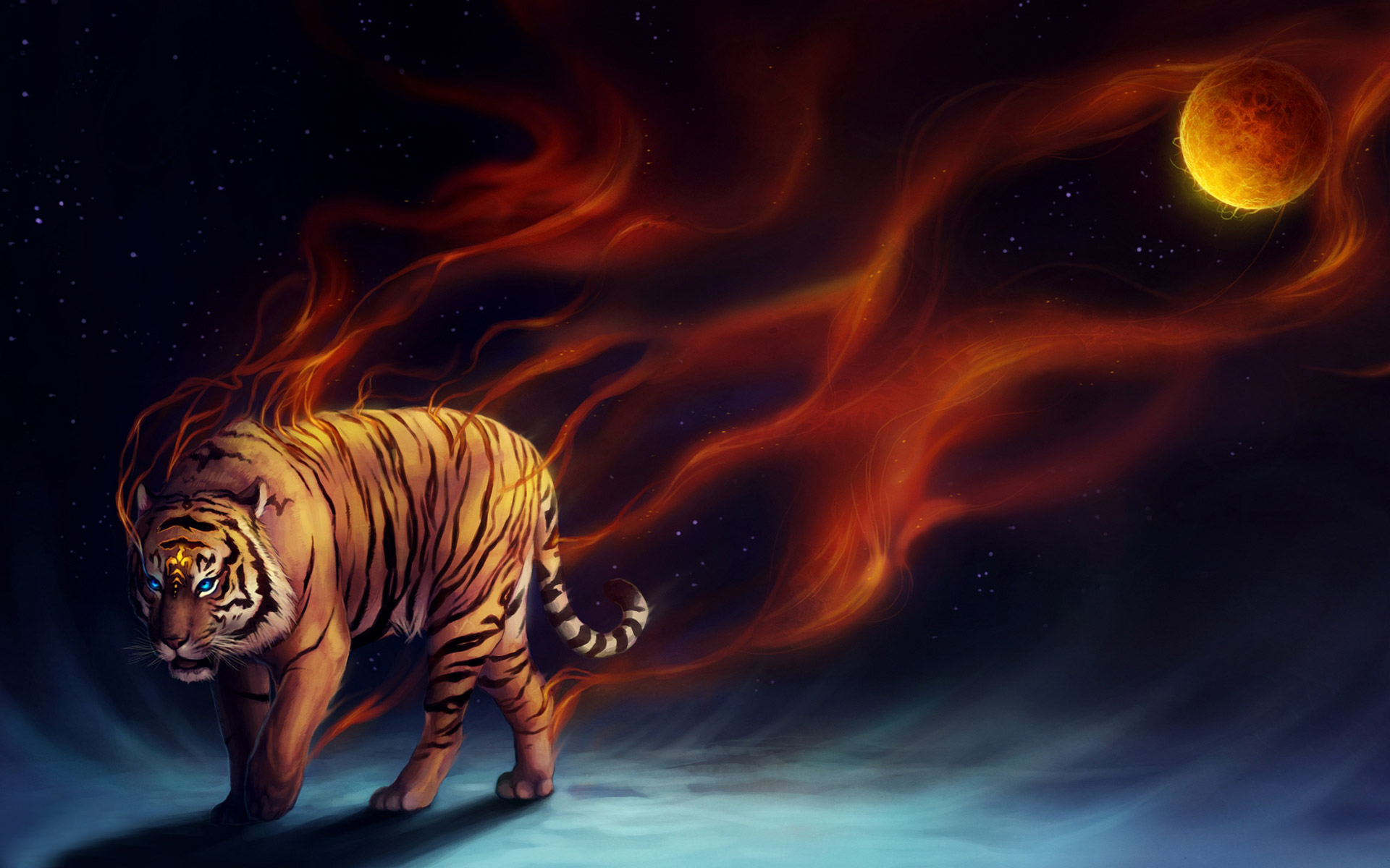 Tiger Hd Wallpapers Backgrounds Wallpaper 1920x1200