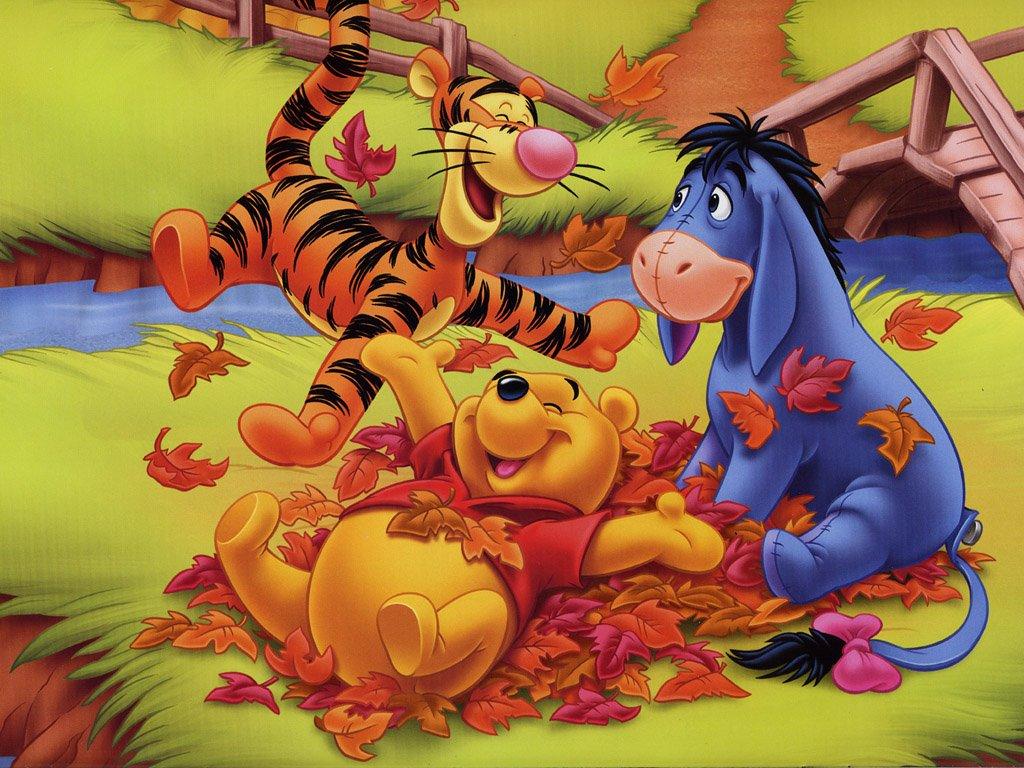 Картинки про осень из мультиков