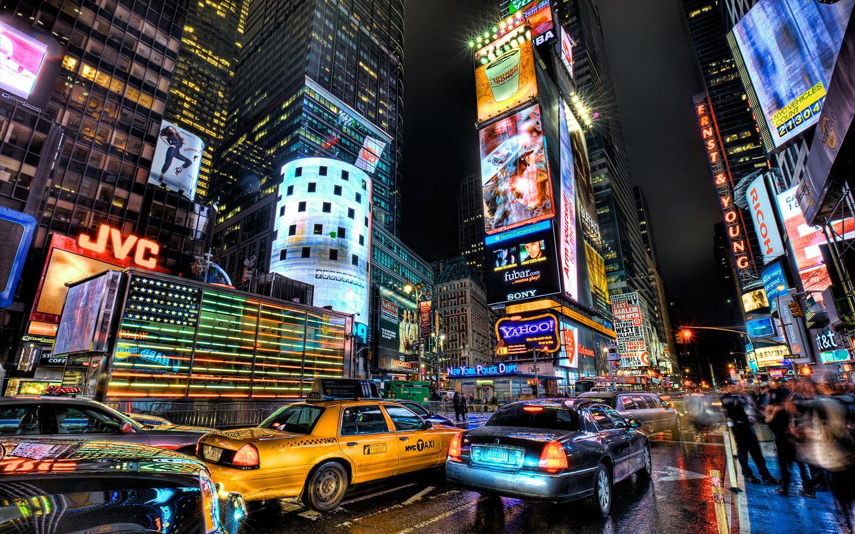 Times Square Wallpaper 1680x1050