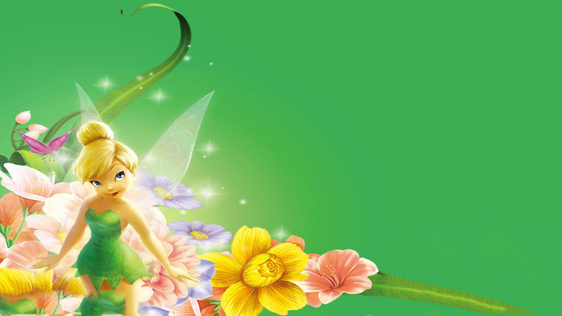 Tinker bell movie hd desktop wallpaper widescreen mobile 1920x1080 voltagebd Gallery