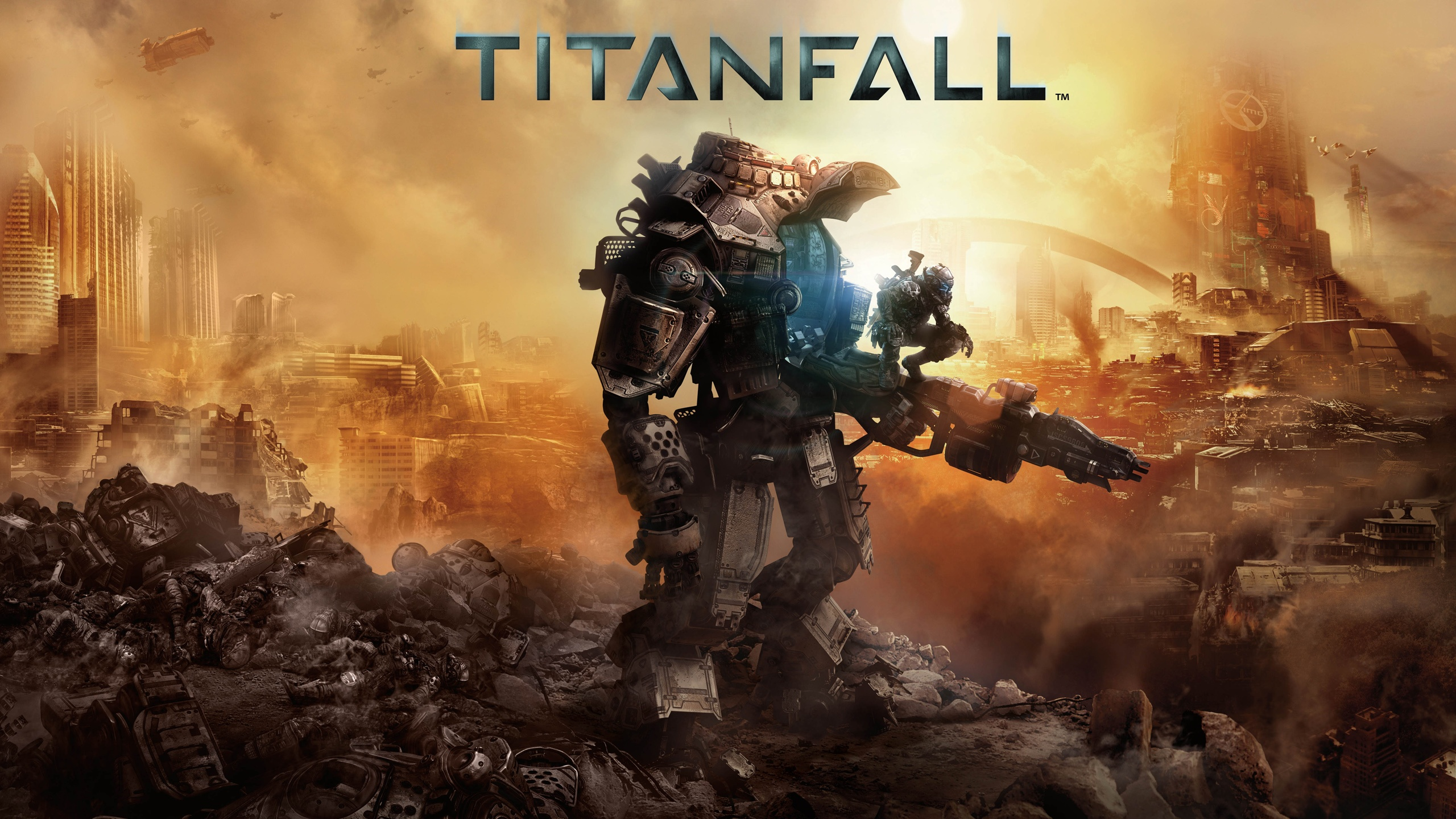 HD Wallpapers for Titanfall Free Backgrounds for Your Lock 2560x1440