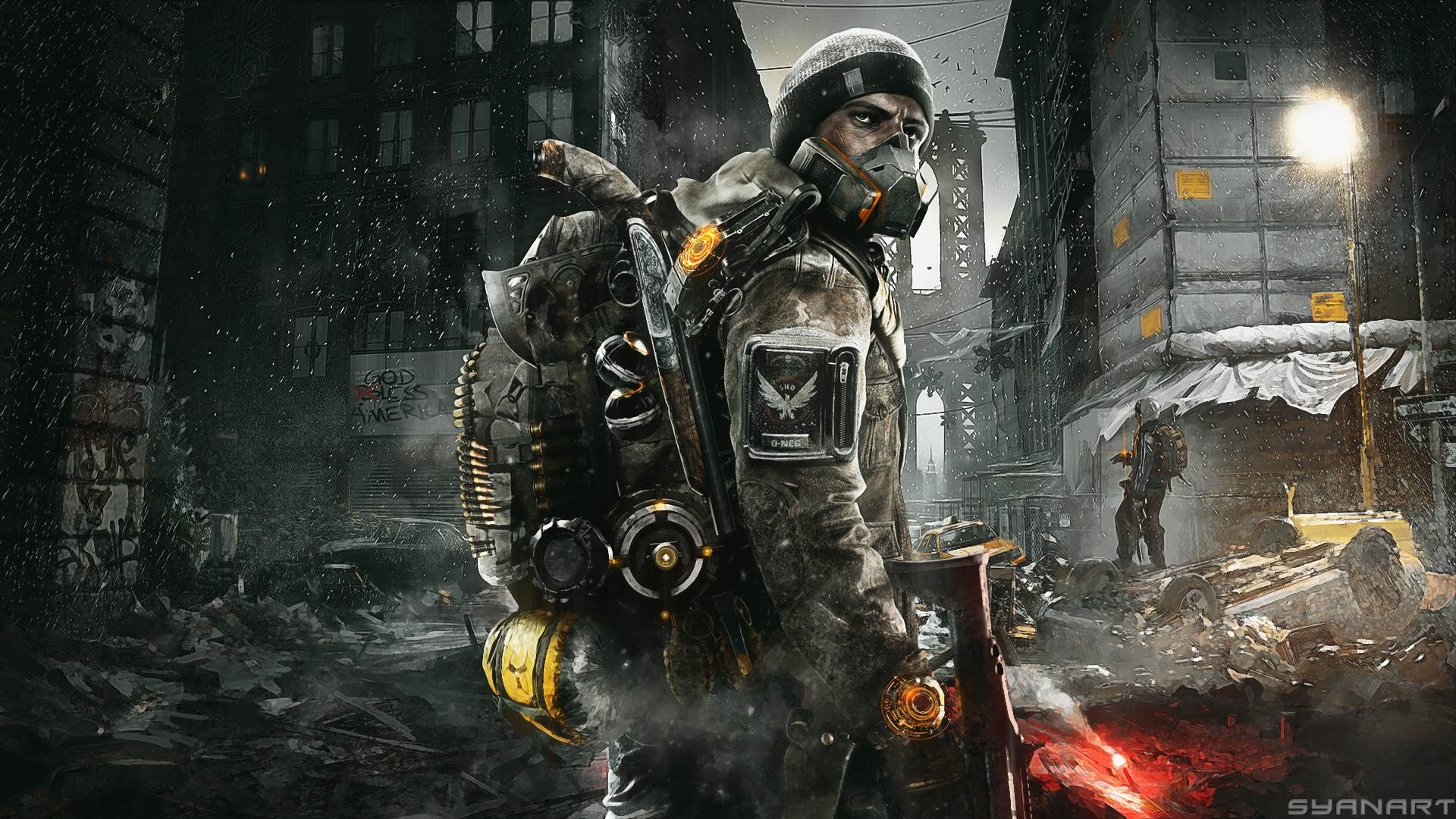 Tom Clancy's The Division Wallpapers (28 Wallpapers