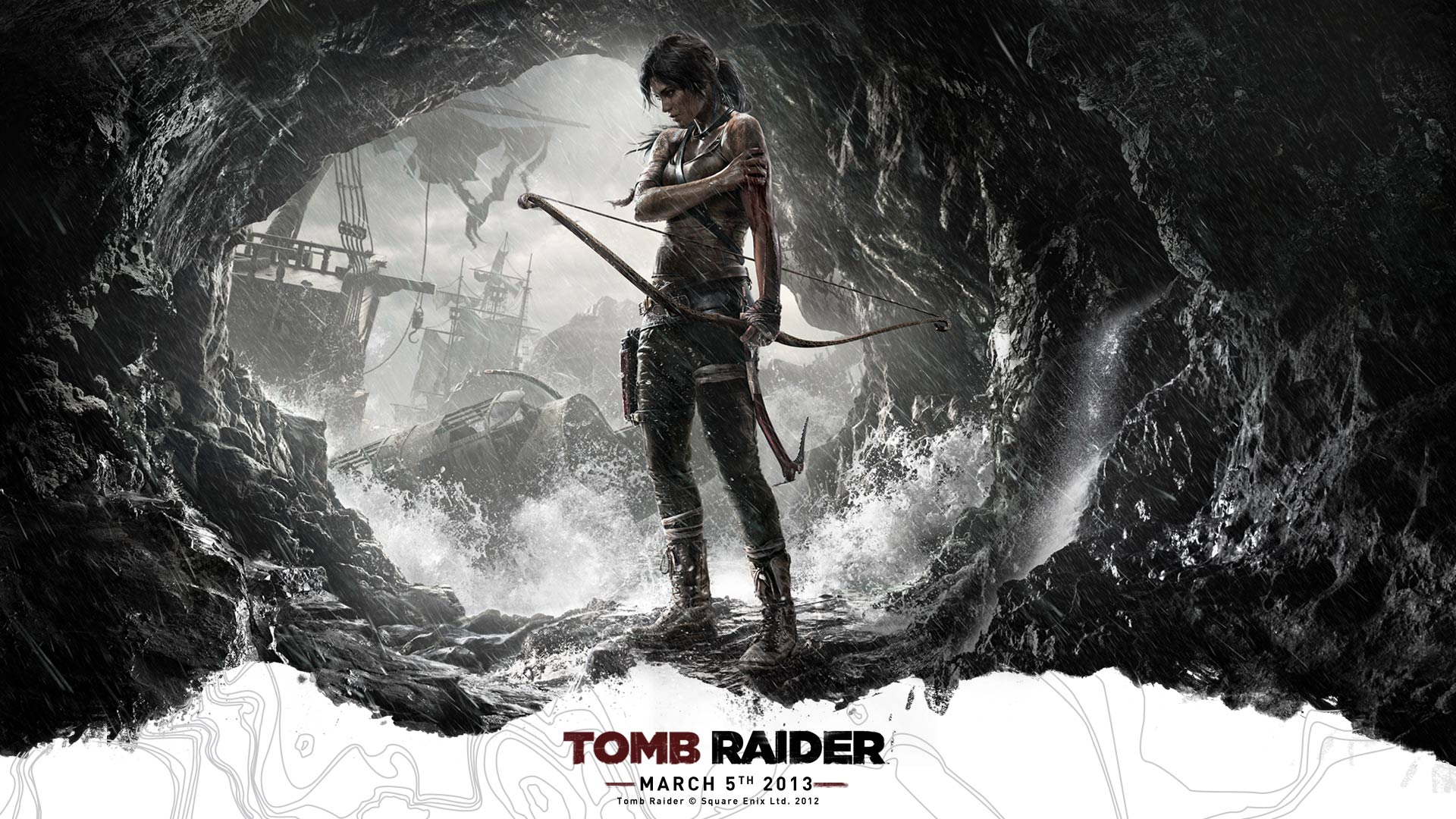 Rise Of The Tomb Raider Video Game Wallpaper Wallpaper Free 1920x1080