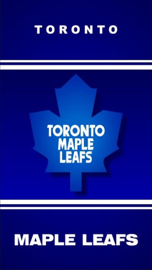 Toronto Maple Leafs iPhone Wallpaper   640x1136