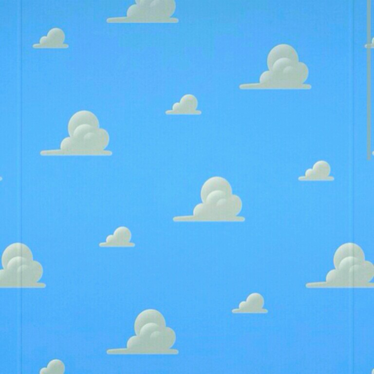 Toy Story Clouds Vector