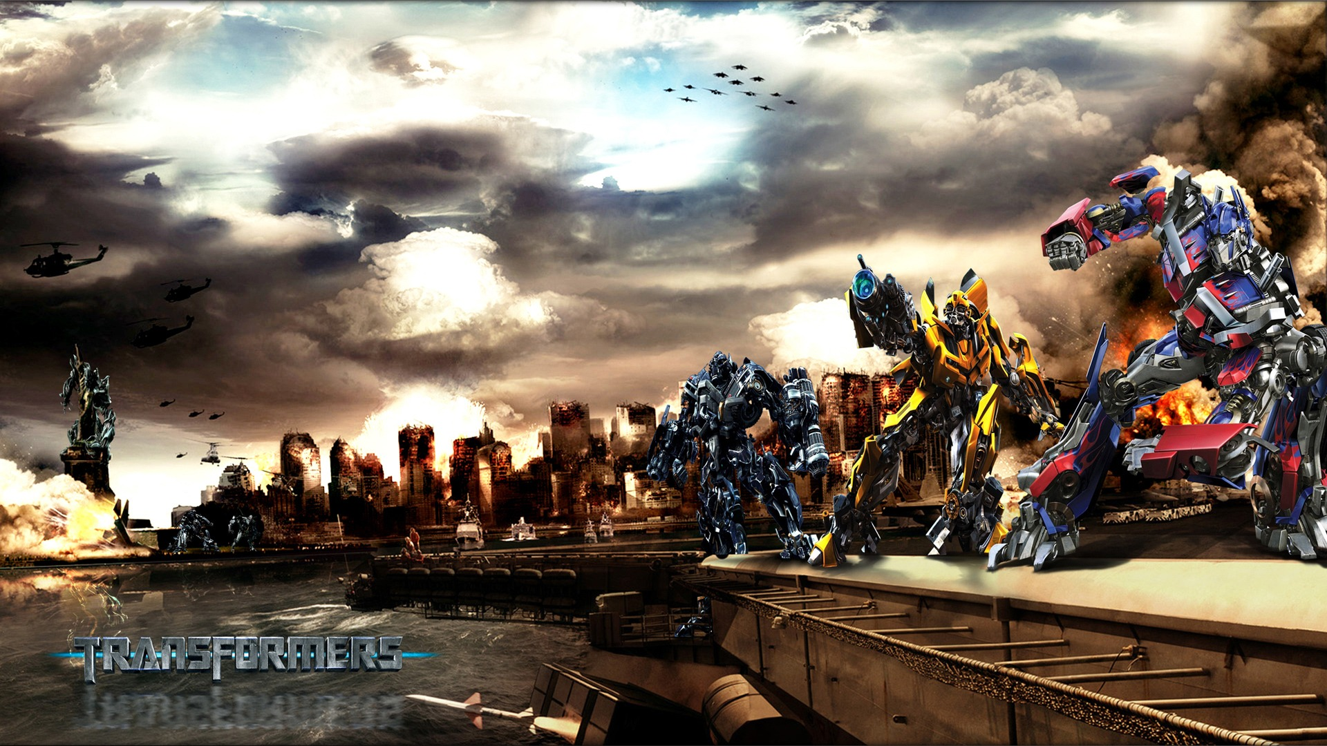 Movie Transformers Bumblebee Rise Of Galvatron Wallpaper Hd 1920x1080