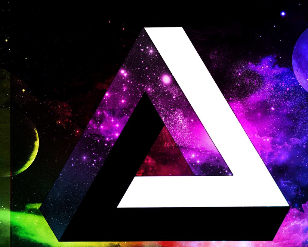 Galaxy Triangle High Resolution Wallpapers Wallpaper Home