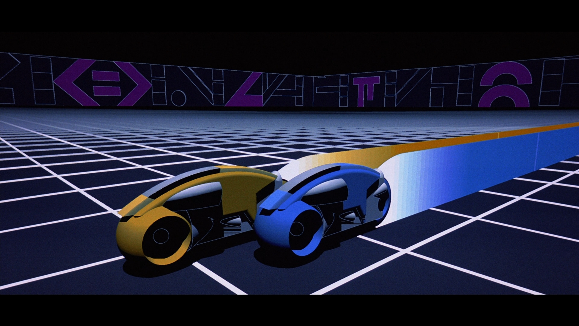 Tron Legacy Light Cycle Motorcycle Wallpaper 1920x1080