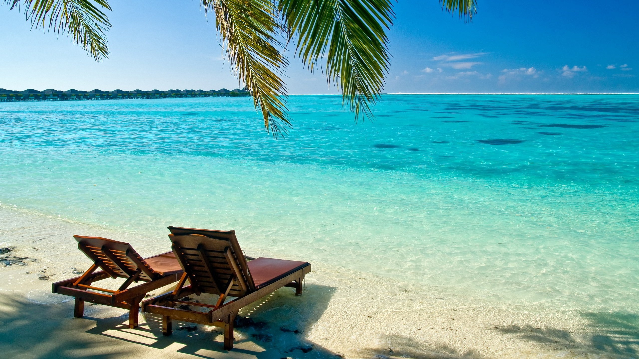HD Tropical Beach Backgrounds 2560x1440