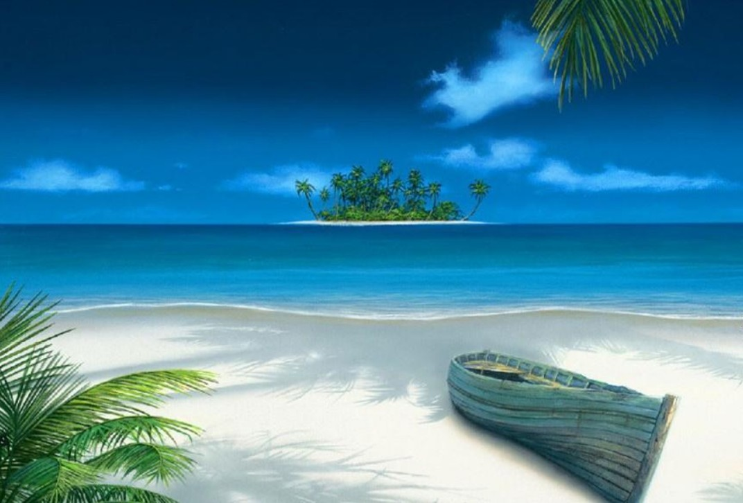 Hd Tropical Island Beach Paradise Wallpapers And Backgrounds: Tropical Island Desktop Backgrounds (47 Wallpapers