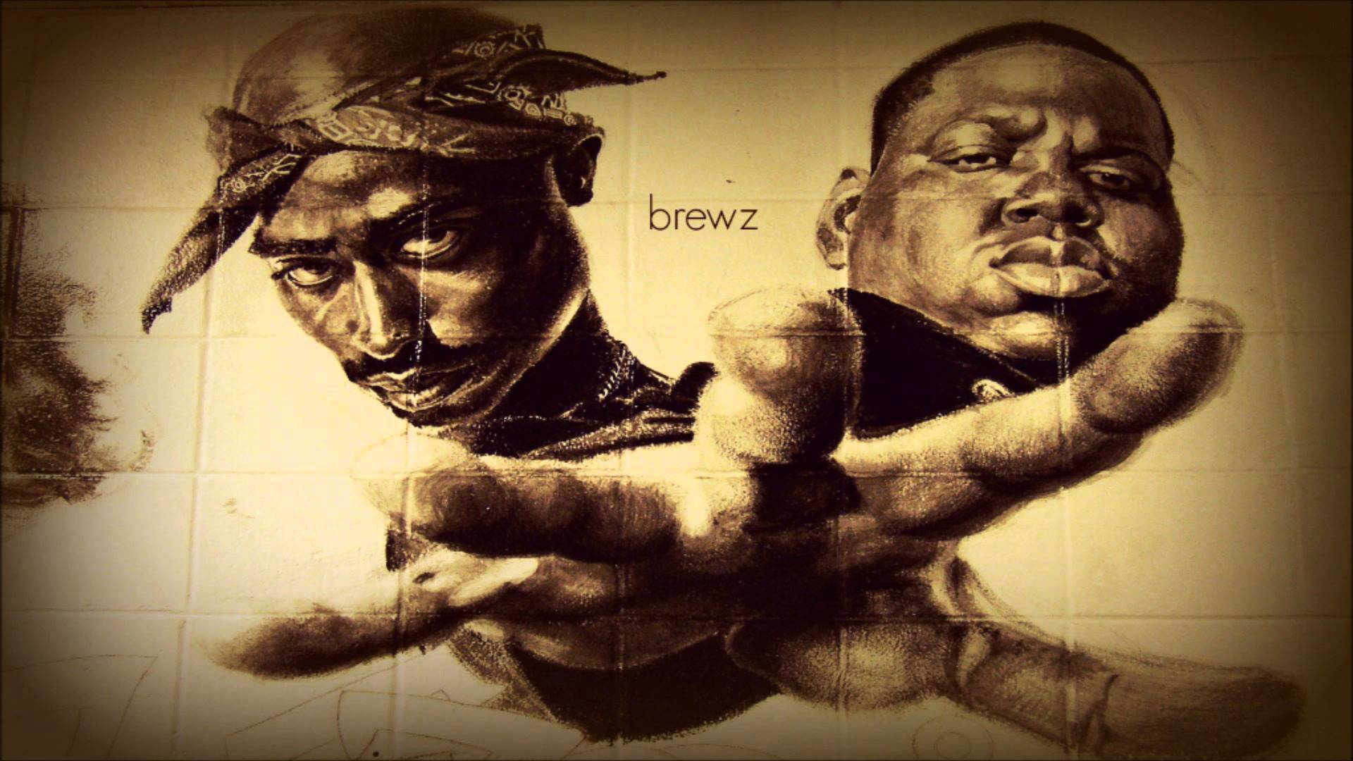 Tupac and Biggie Wallpaper   1920x1080