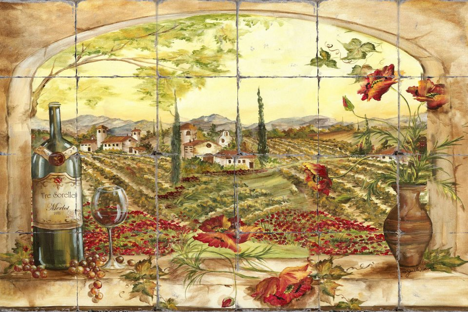 Funky Tuscan Kitchen Wall Art Image - Wall Art Collections ...