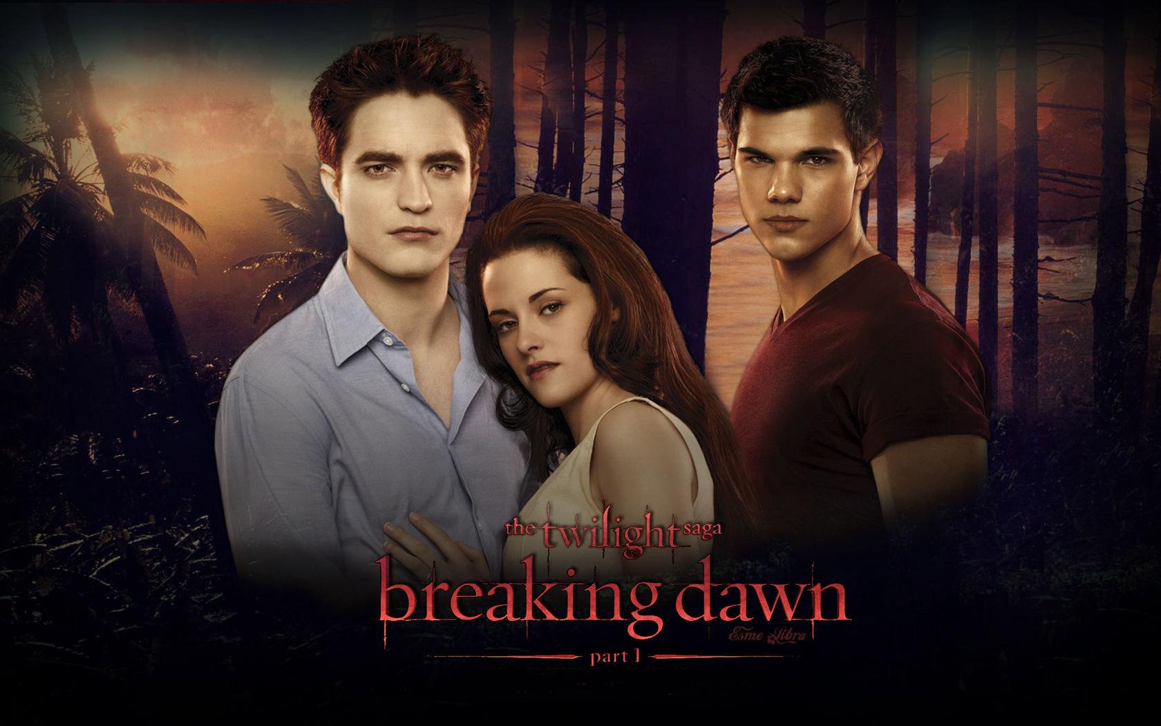 Bella And Edward Breaking Dawn Part Wallpaper ee